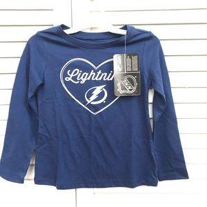 NEW Tampa Lightning Hockey Long Sleeve T-Shirt
